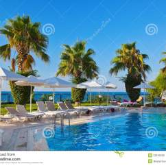 In Water Pool Chairs Office Chair Kneeling And Stock Photo Image 22242530
