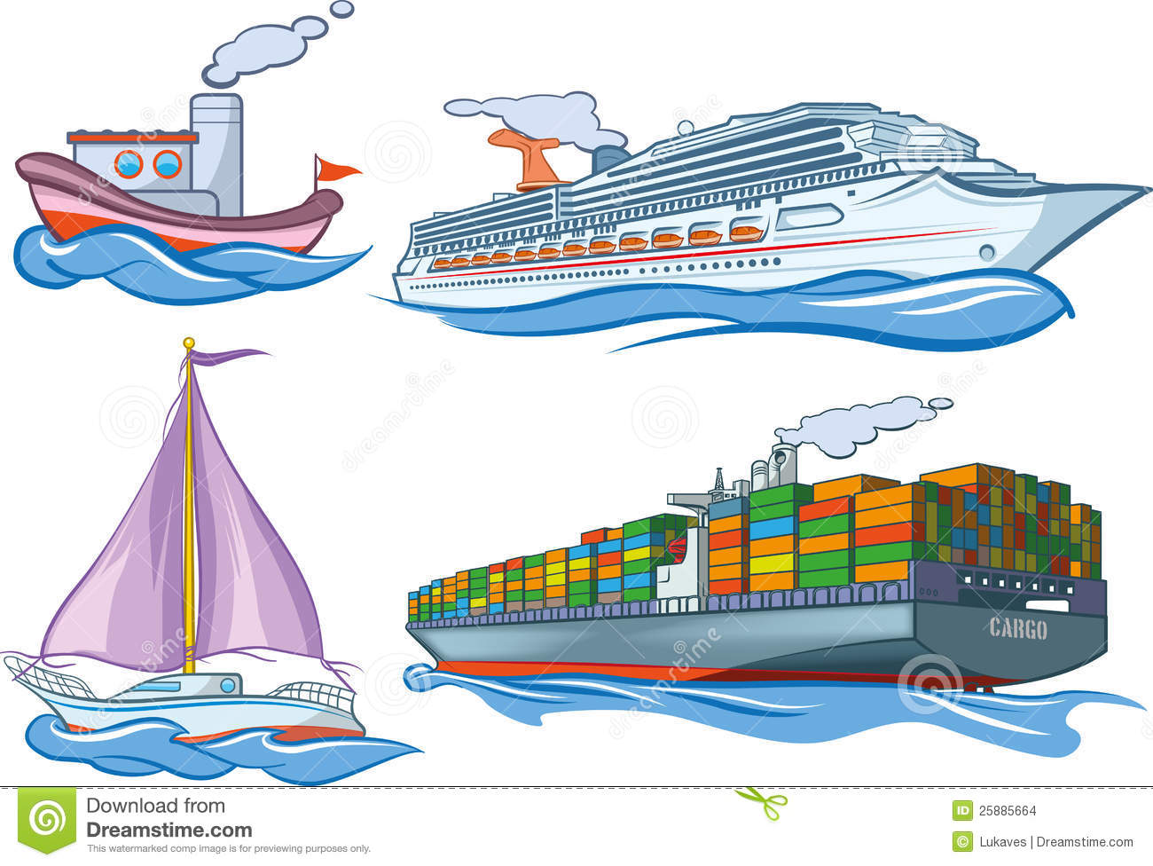 Water Transport Stock Images