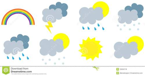 small resolution of wather seasons forecast symbols