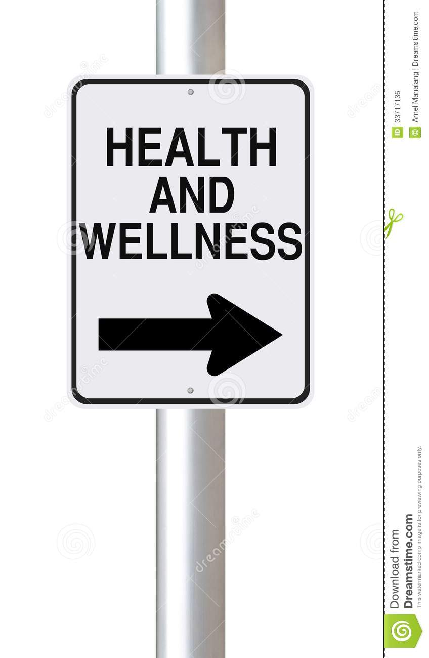 This Way To Health And Wellness Stock Photo  Image 33717136