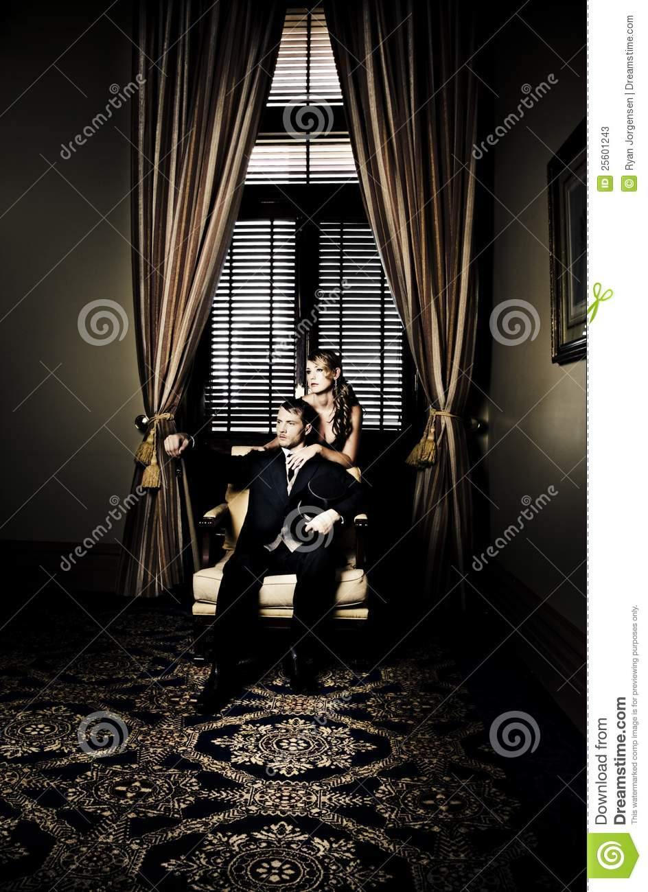 Wealthy Young Couple Stock Photos  Image 25601243