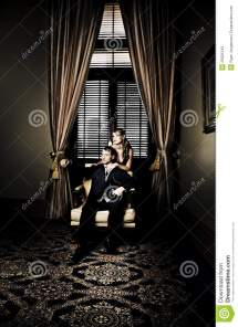 Wealthy Young Couple Stock Of Male Interior