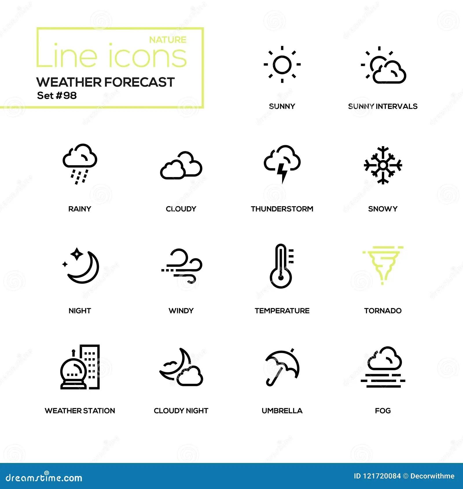 Weather Elements Worksheet