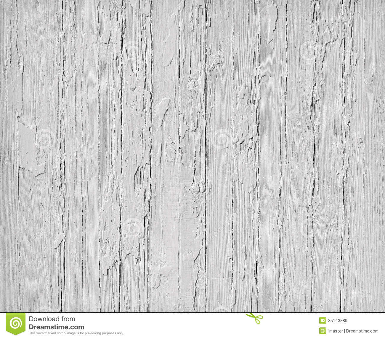 Weathered White Wood Royalty Free Stock Images