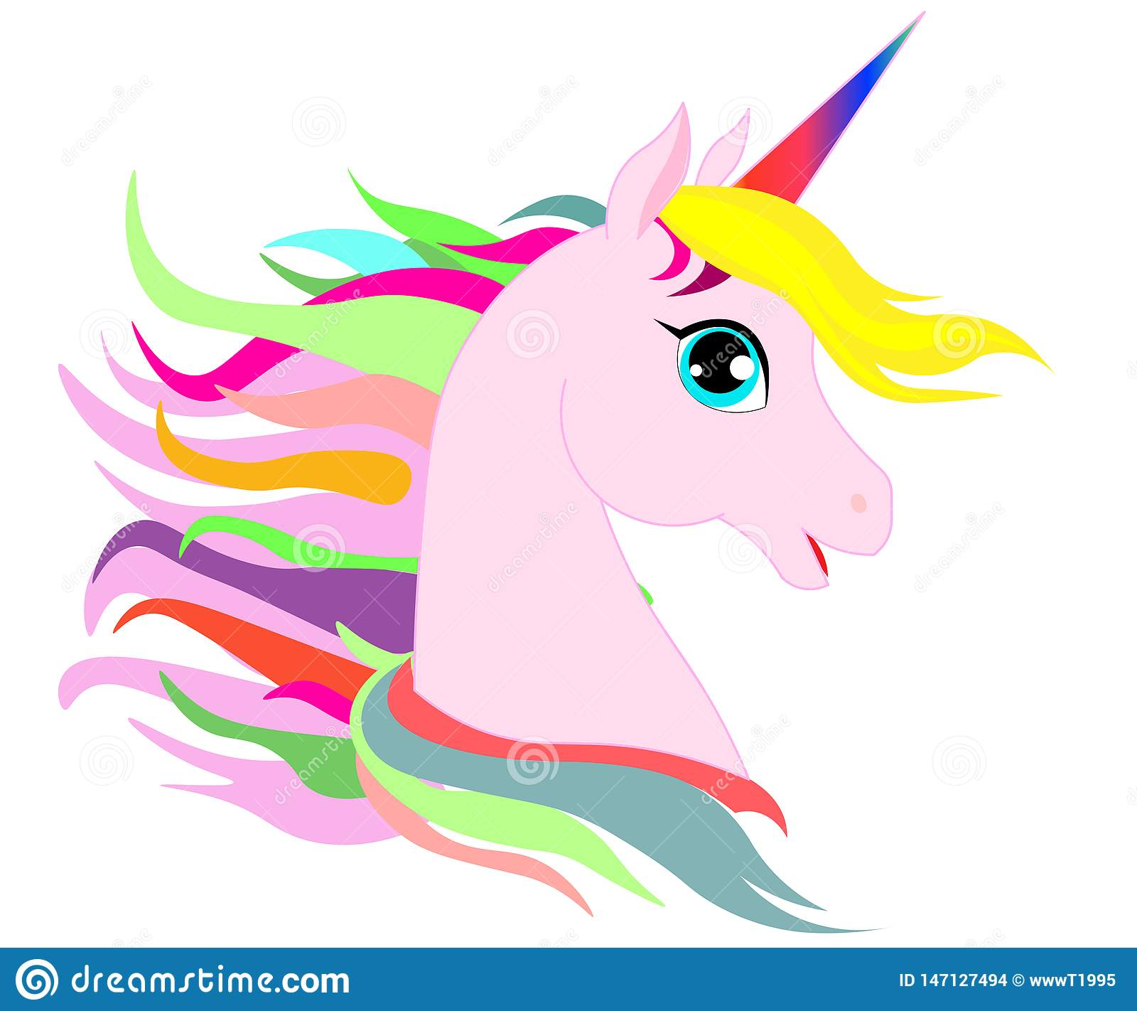Unicorn Head Stock Illustrations 6 816 Unicorn Head