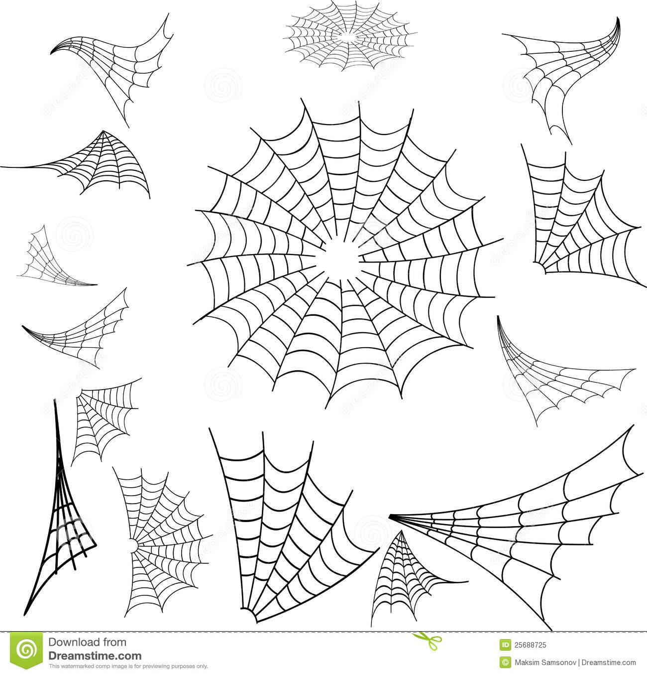 Web Spider Royalty Free Stock Photo