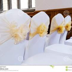 Wedding Chair Covers For Oversized Beach Stock Photo Image 33598900