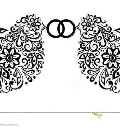 wedding clipart silhouette of two birds [ 1300 x 722 Pixel ]
