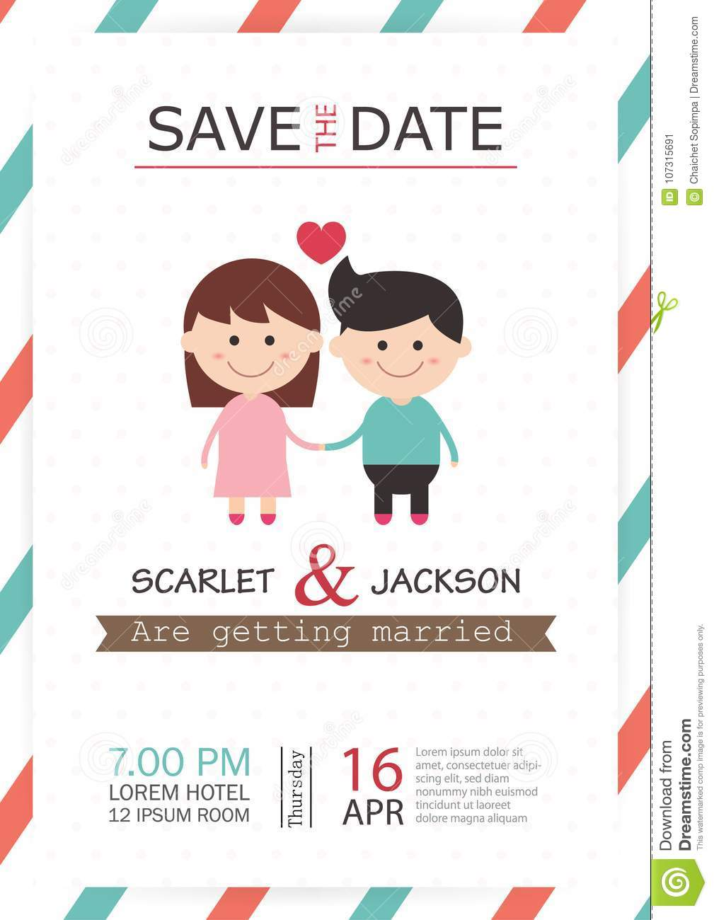 ✓ free for commercial use ✓ high. Wedding Invitation Card Template Vector Illustration Wedding Invitation Card Editable With Background Save The Date Font Stock Vector Illustration Of Background Graphic 107315691