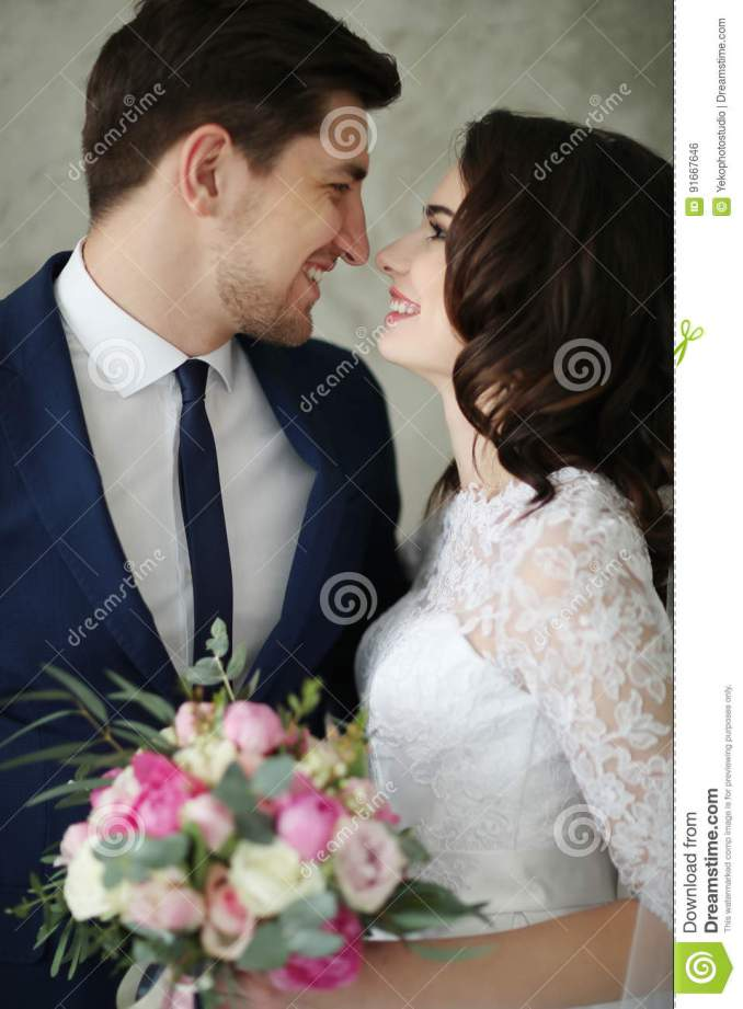 wedding stock photo. image of event, hairstyle, bridegroom