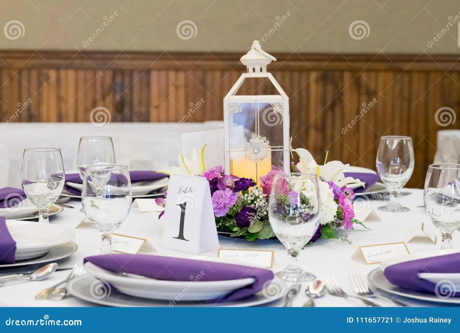 candle lantern wedding reception