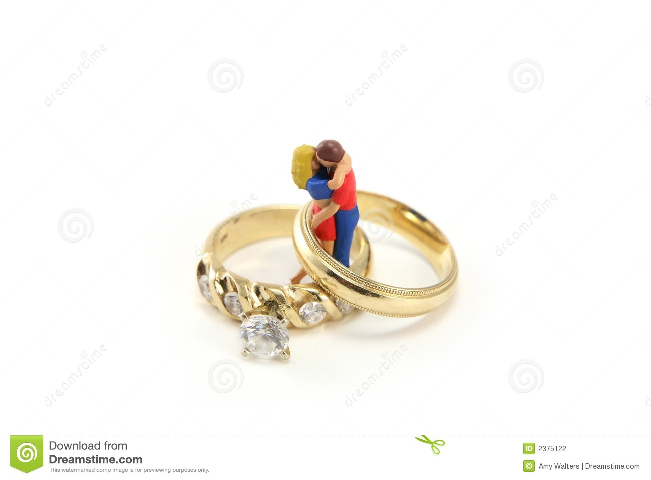 Wedding Ring Concept Stock Photography Image 2375122