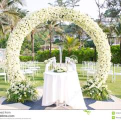 Outdoor Dream Chair High Baby Trend Wedding Set Up In Garden Inside Beach Royalty Free Stock Images - Image: 37351329