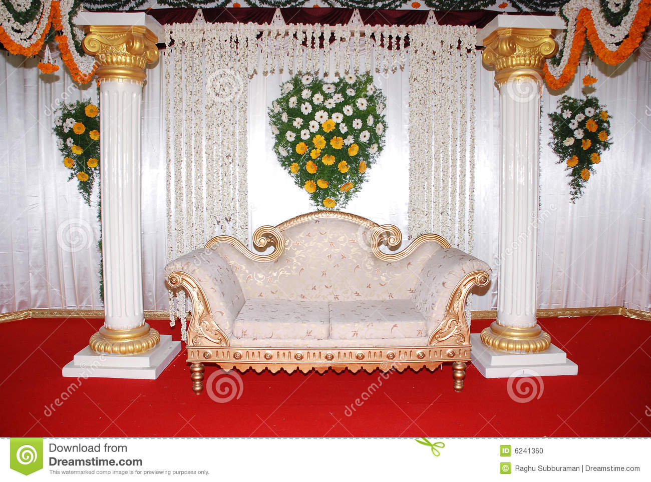 wedding stage chairs chair of structural design eth sofa stock photo image engagement