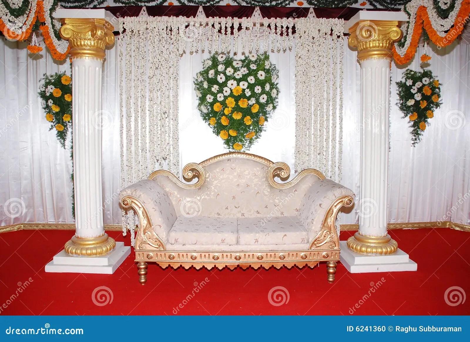 wedding sofa fendi stock photo image of stage engagement pillar 6241360