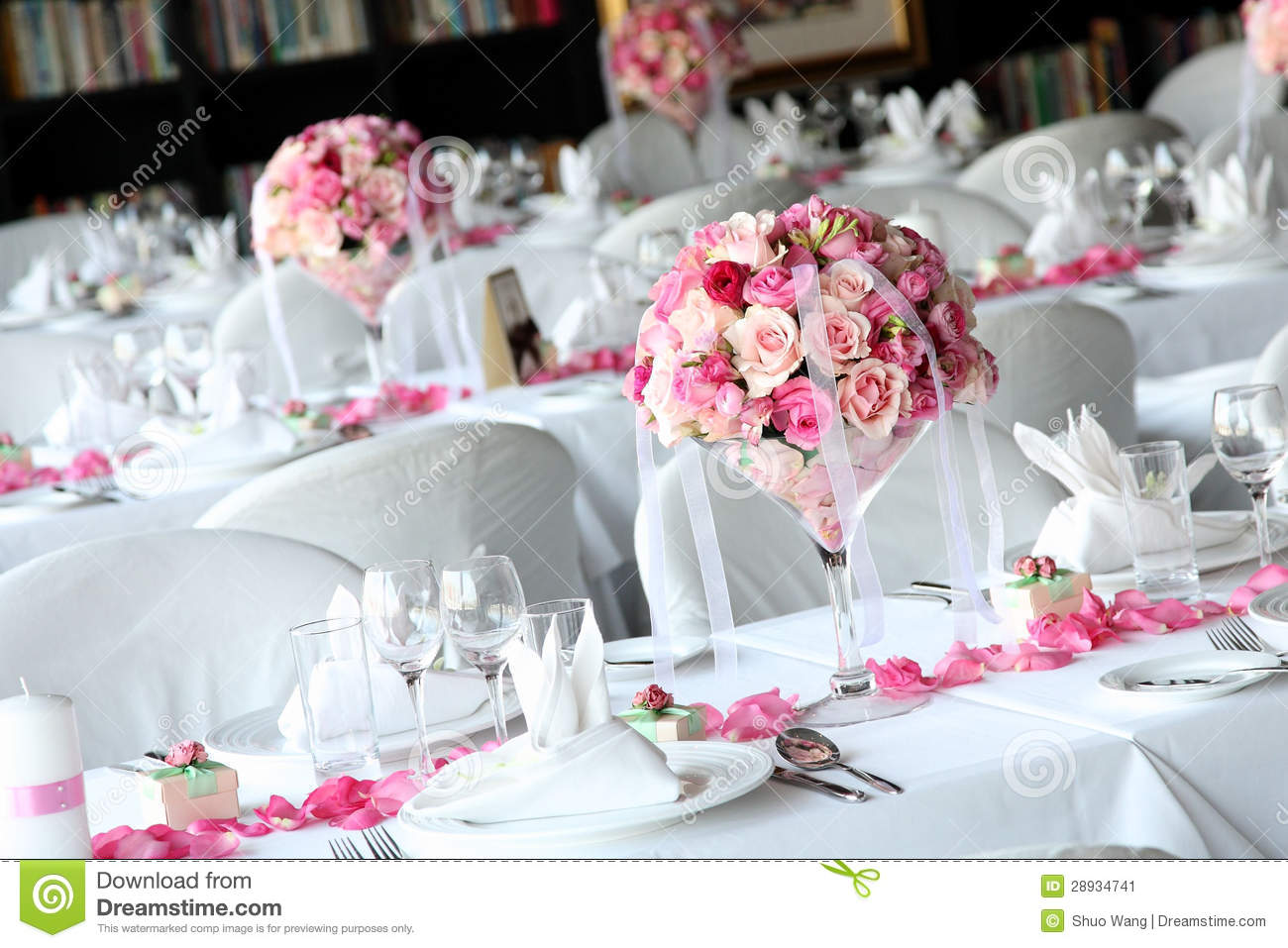 Wedding Table Stock Image  Image 28934741