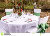 Wedding Table Setting 4 Royalty Free Stock Photo - Image ...
