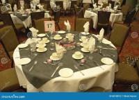 Wedding Table Settings stock image. Image of cutlery