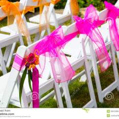White Chairs For Wedding Cool Rocking Venue Royalty Free Stock Images Image