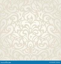 Wedding Vintage Floral Ecru Wallpaper Background Design ...