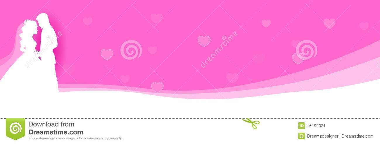 Wedding Web Header Banner Stock Image Image 16199321