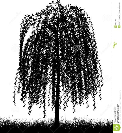 small resolution of weeping willow tree