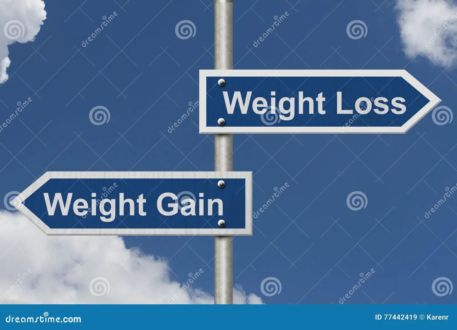 weight loss versus gain stock photo image 77442419