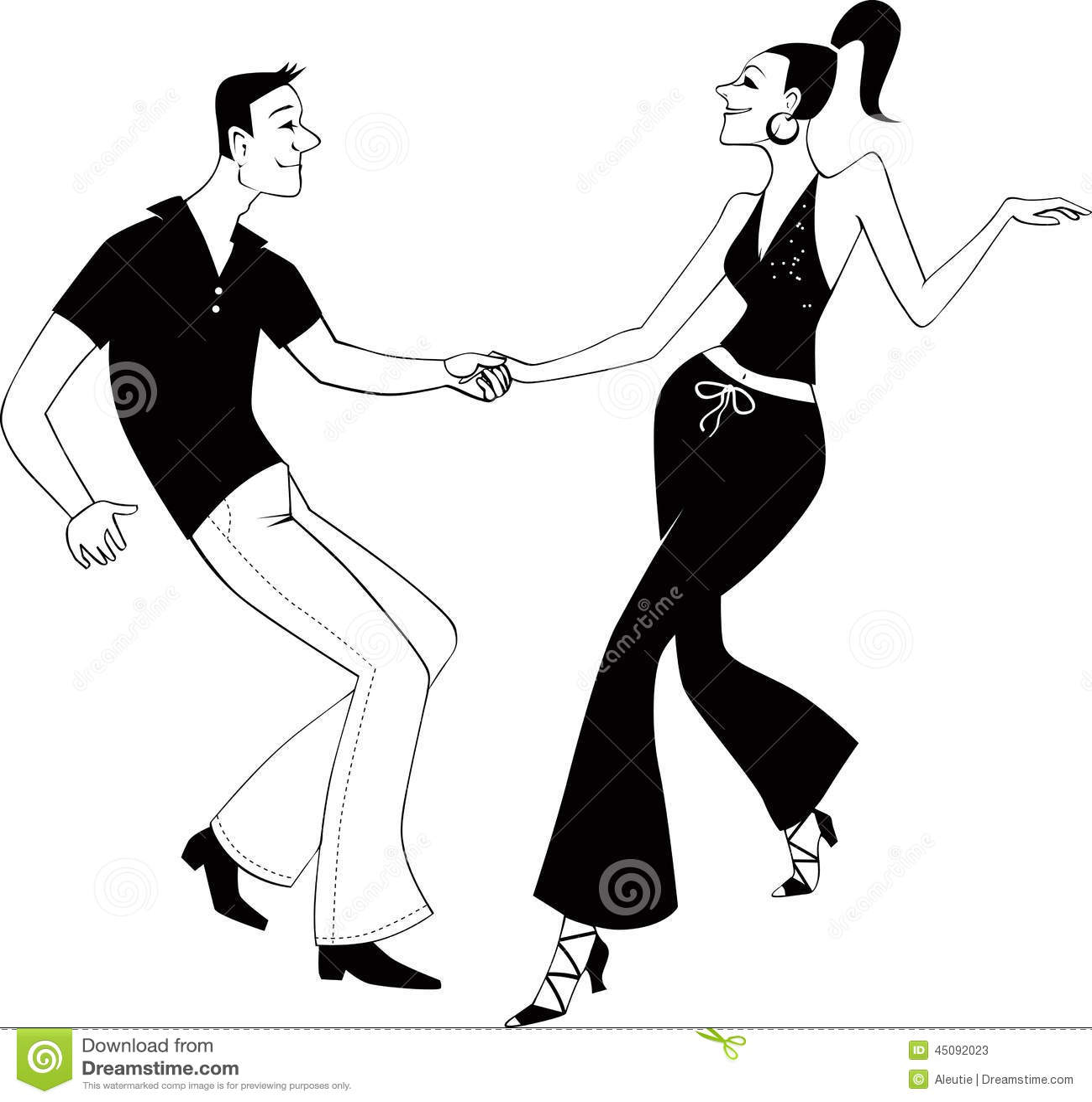 2 way kiss line dance mitsubishi truck wiring diagram west coast swing dancers clip art stock vector