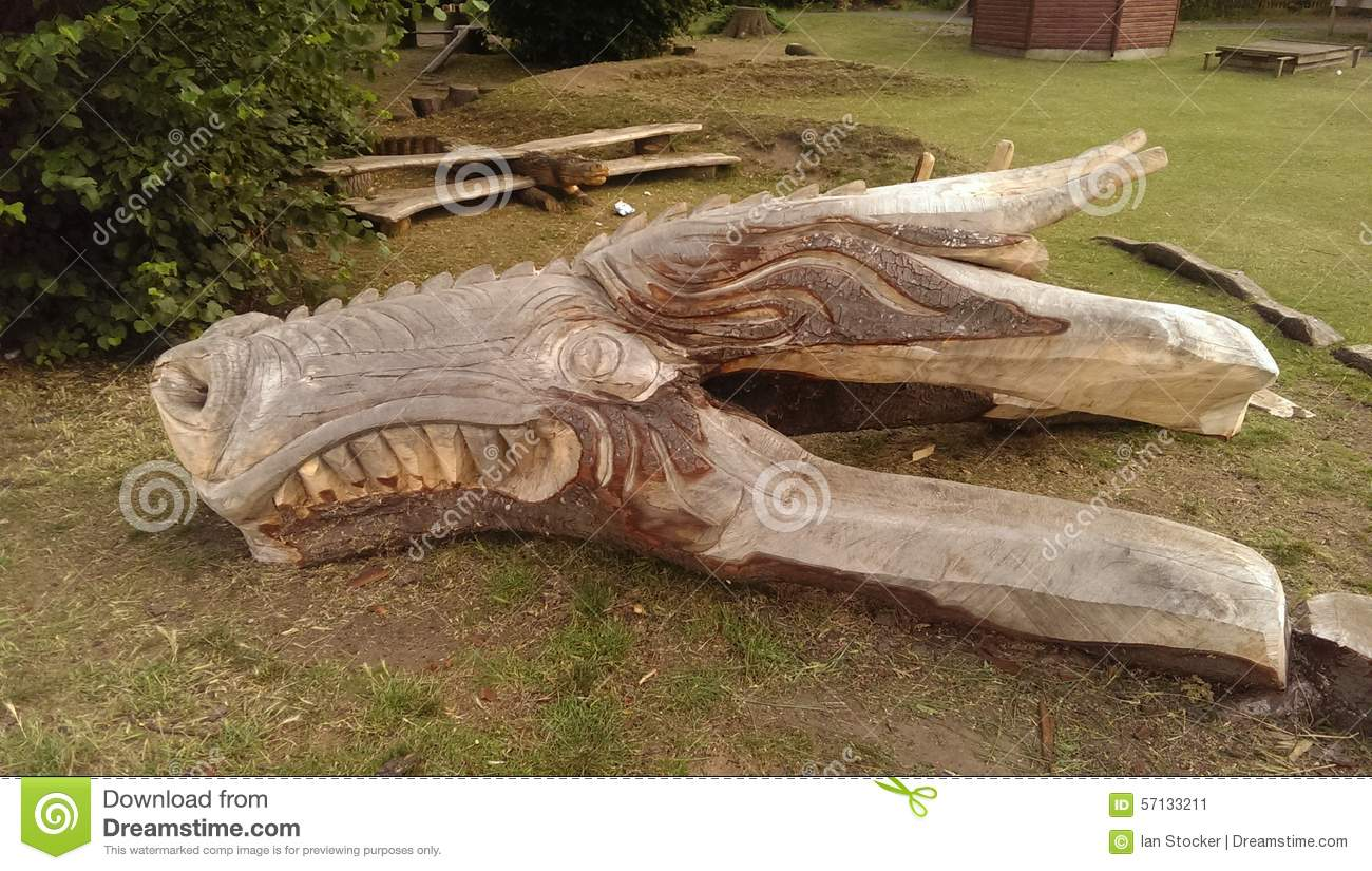 What To Do With An Old Tree Stump Stock Image