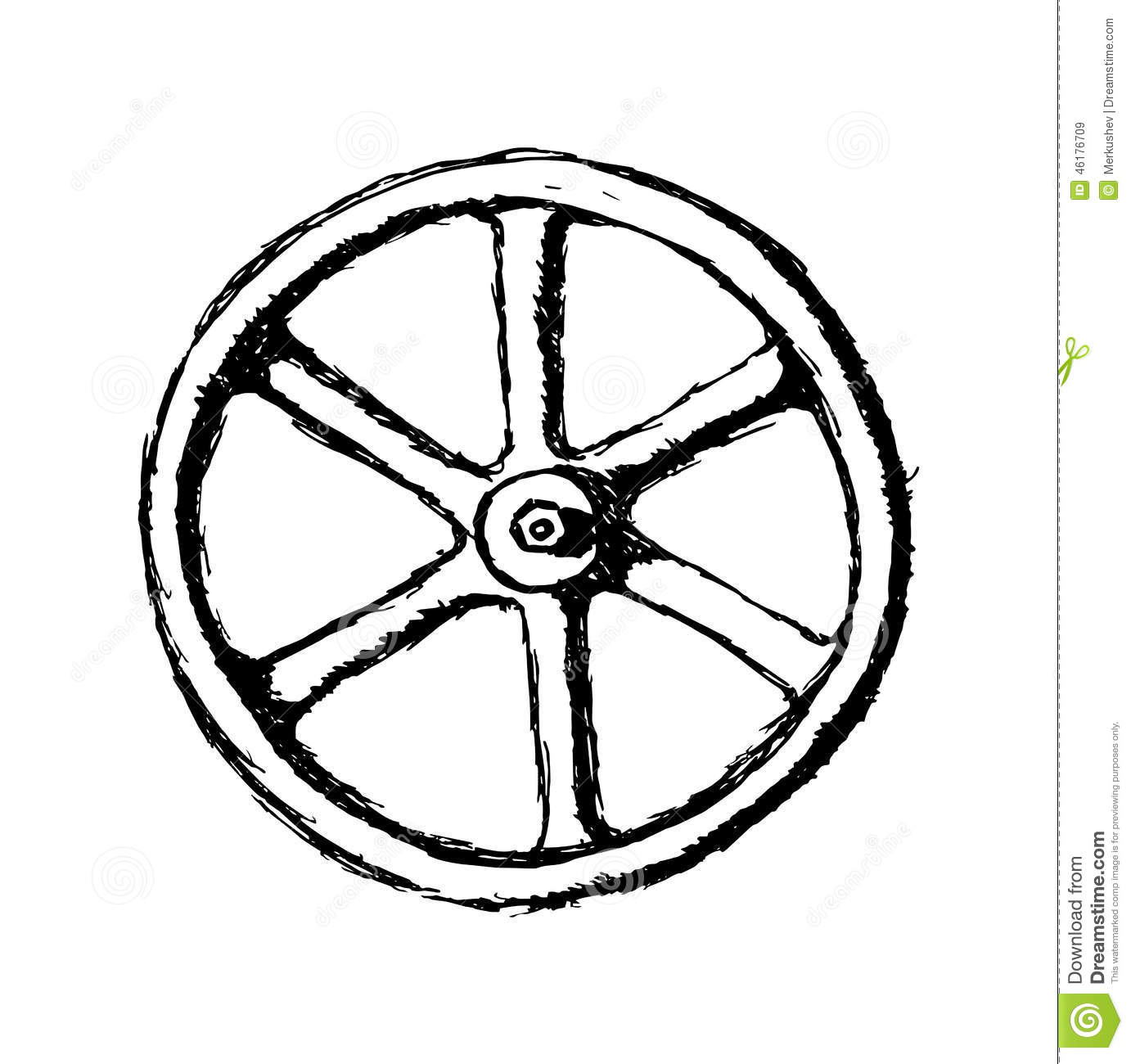 Bicycle Wheel Sketchbdpd9