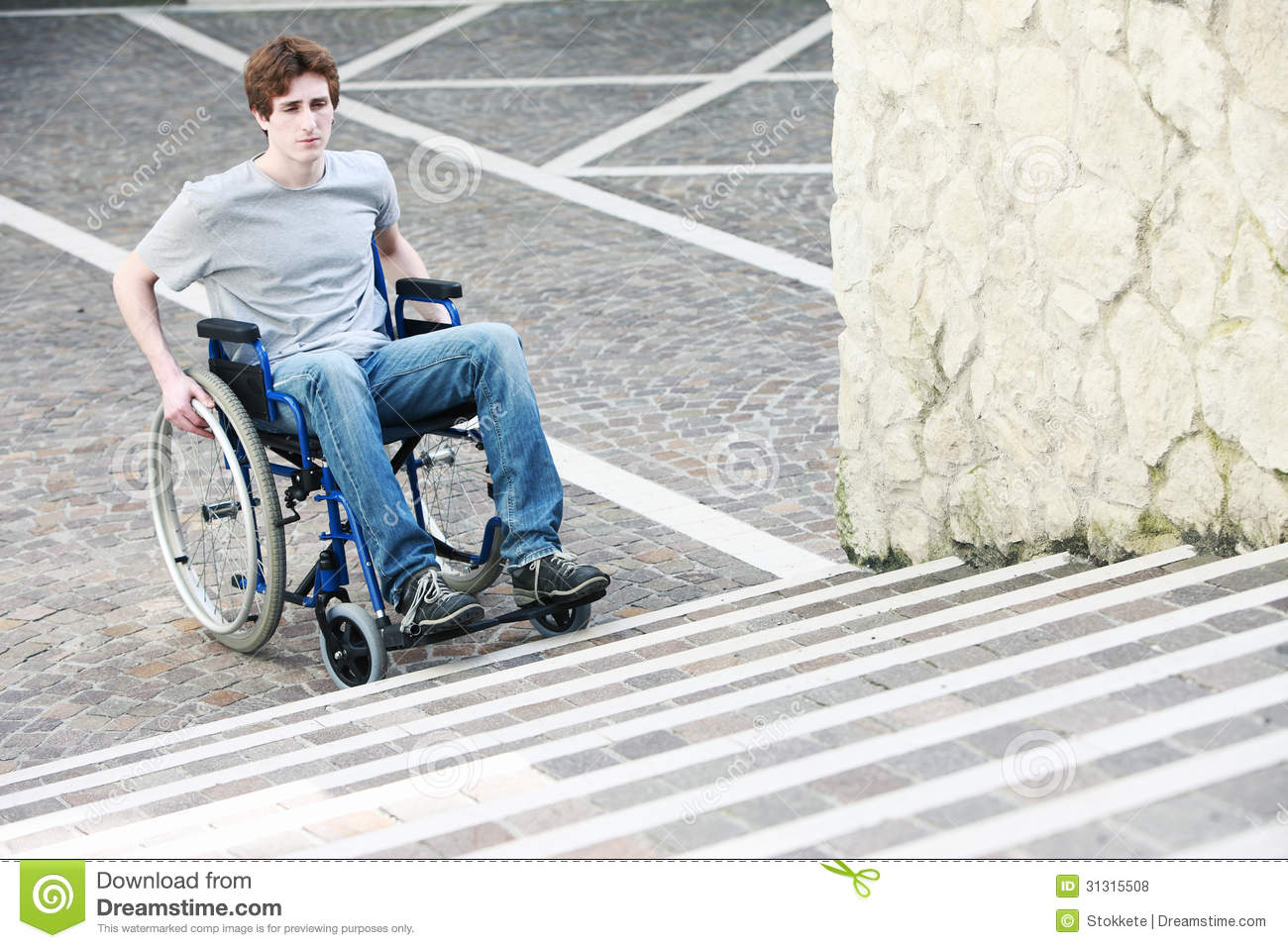 wheelchair up stairs portable wobble chair exercises inaccessable royalty free stock photos