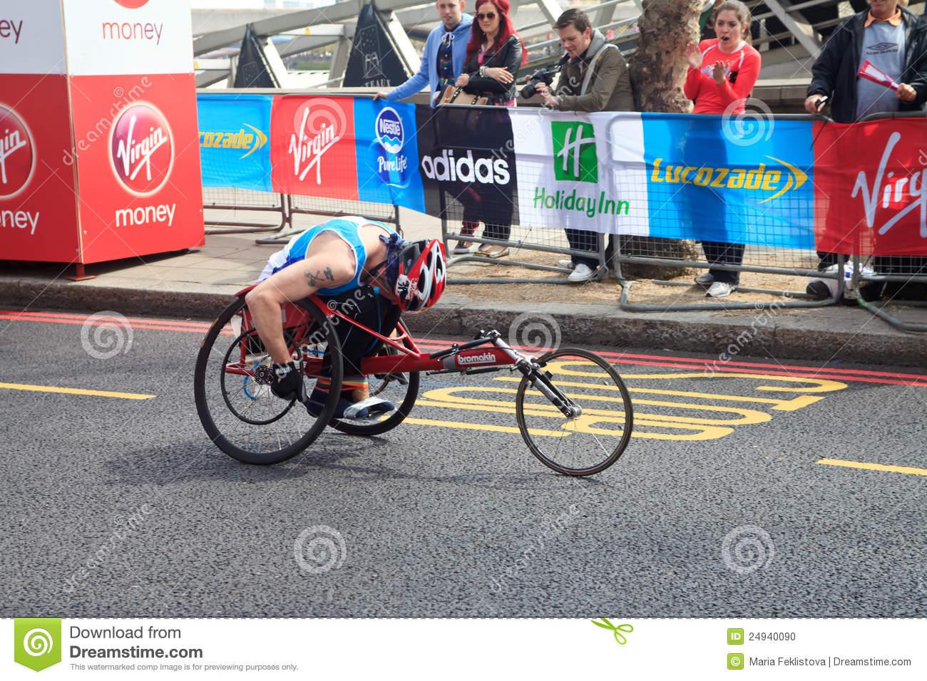 wheelchair marathon all in one high chair racer at london 2012 editorial image