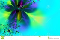 Whimsical Green And Blue Background Stock Images - Image ...