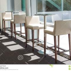 Just In Time Tables Chairs Cheap Chair Cushions Outdoor White Bar Stools And Stock Photo Image 39021911