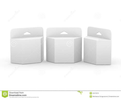 small resolution of  white blank trapezoid box ink cartridge package with clipping p royalty free illustration