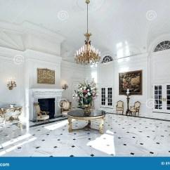 Print Chairs Living Room Best Paint Colors For Dark White Grand Foyer Stock Image. Image Of Floor, Foyer, Home ...