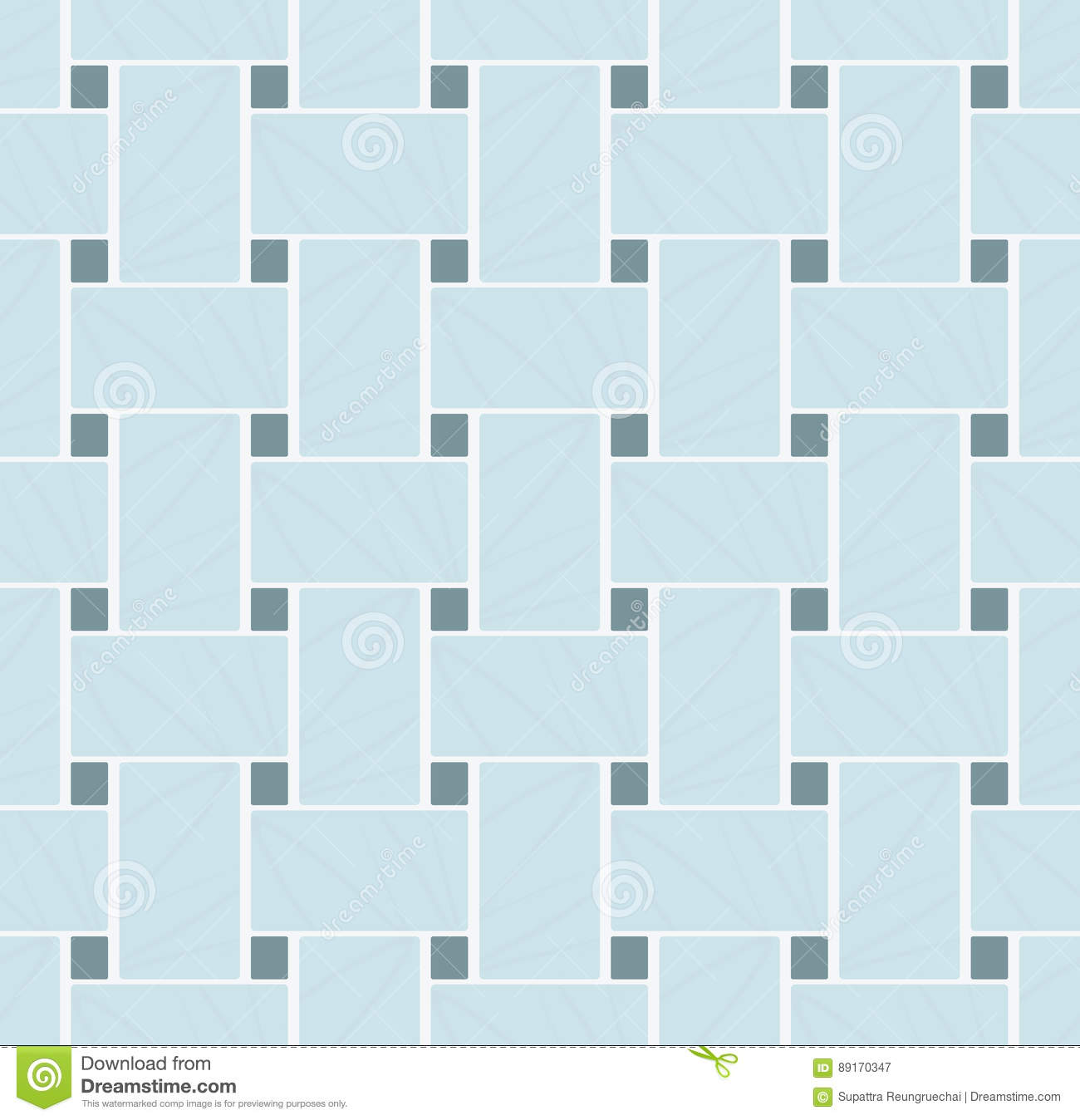white marble basketweave mosaic tile with black dots background stock vector illustration of texture style 89170347