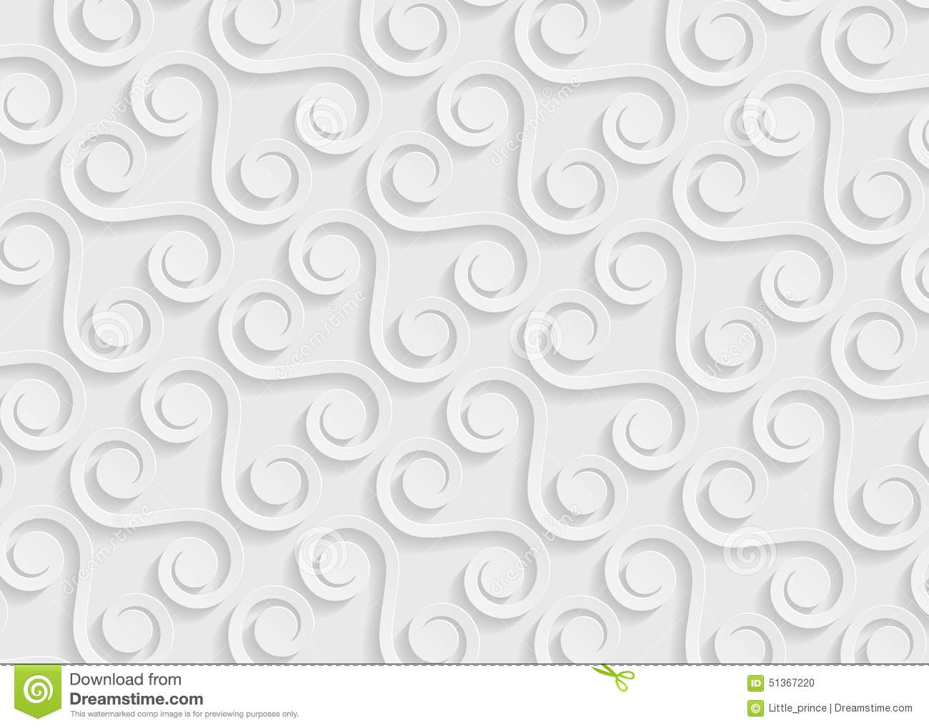 White Paper Geometric Pattern Abstract Background Template For Website Banner Business Card