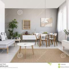 Living Room With Carpet Exotic Rooms White Table On Brown In Interior Grey So