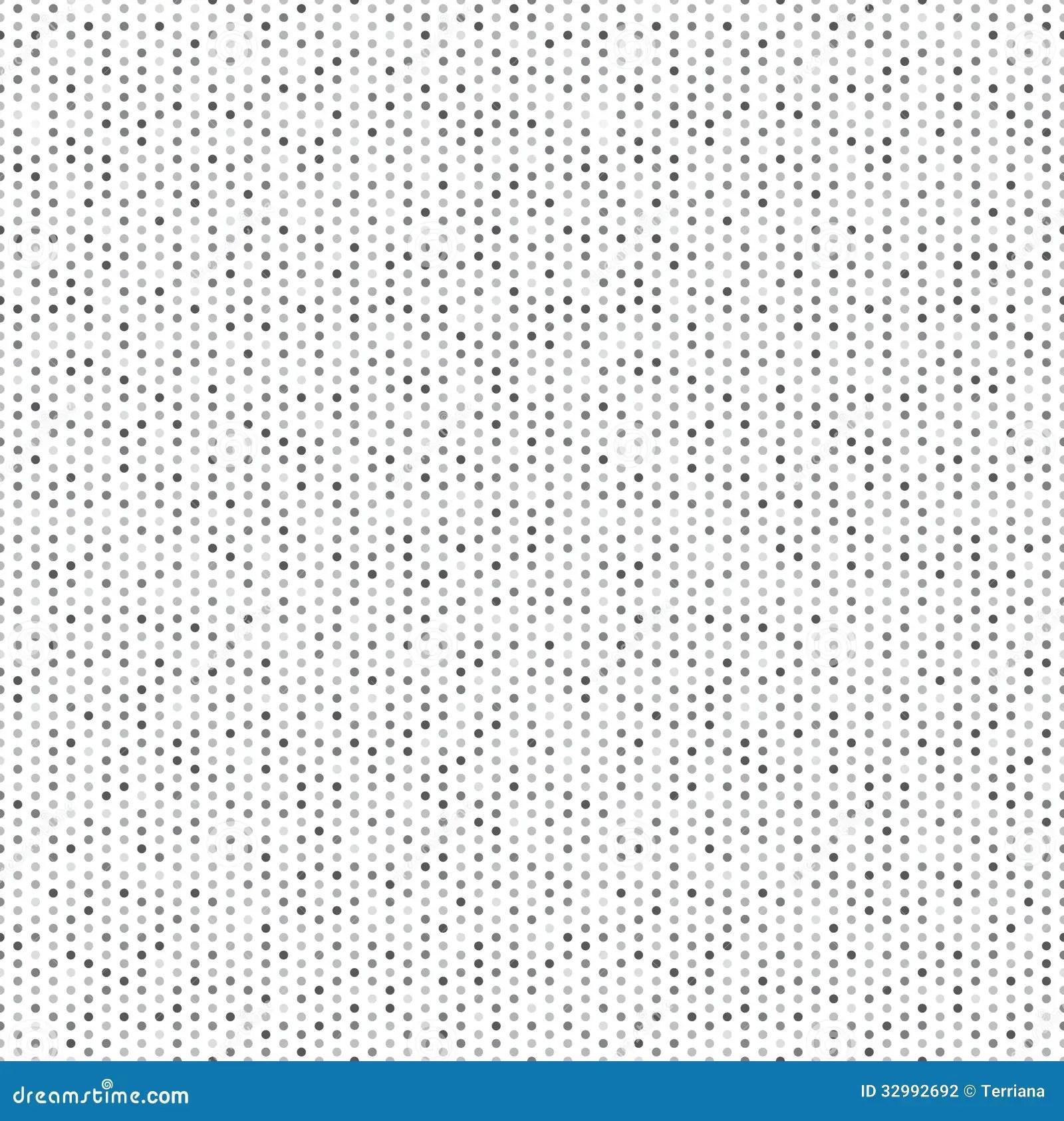 White Tiles Texture Seamless Polka Dot Background Stock