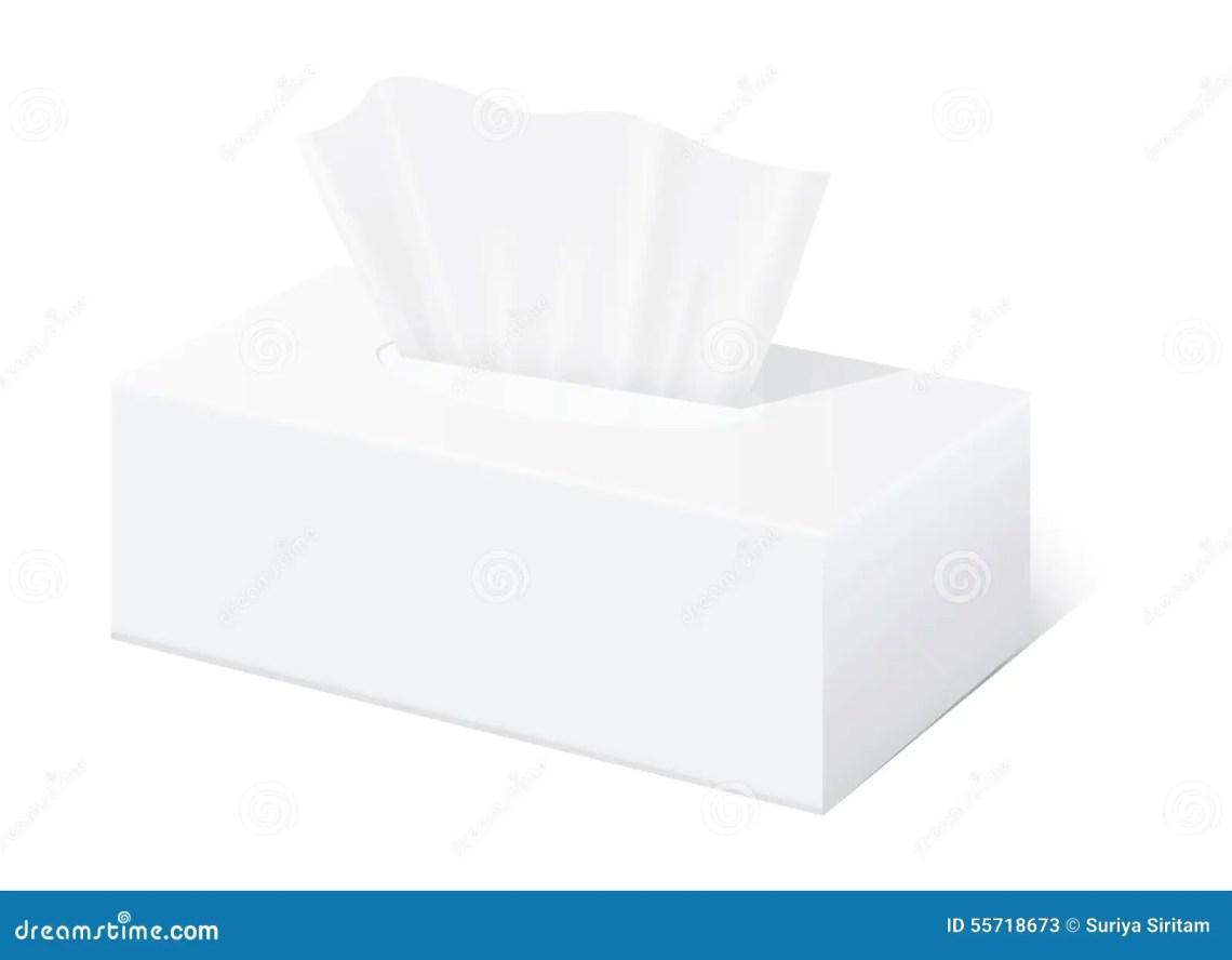 Download White tissue box mock up stock vector. Illustration of ...