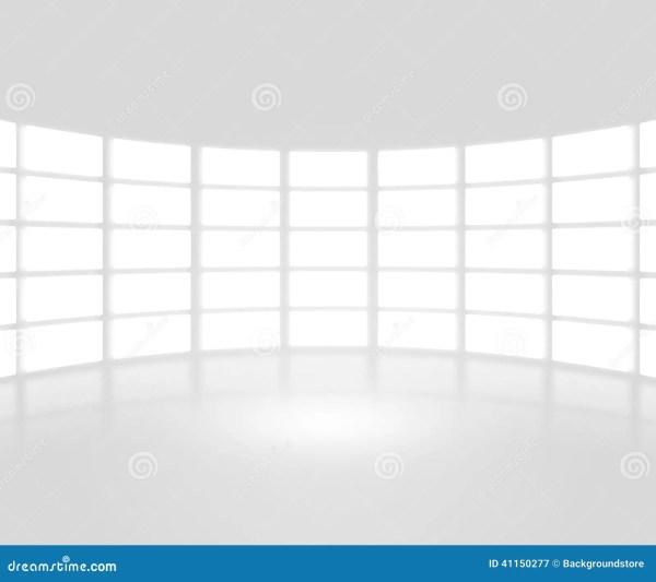 White TV Show Stage Backdrop Stock Photo Image 41150277