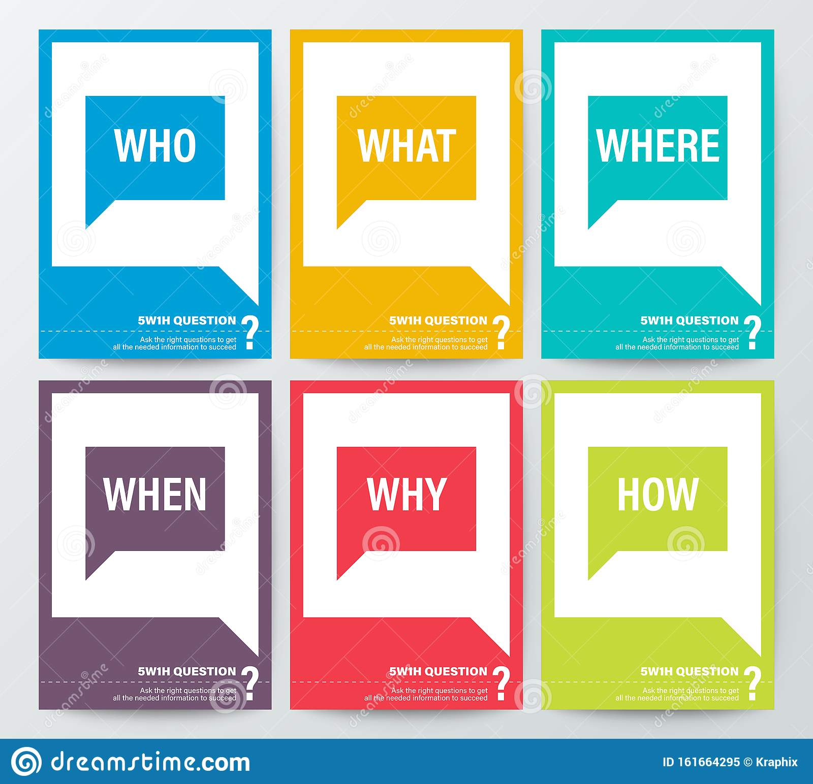 Wh Questions Stock Illustrations 5 Wh Questions Stock