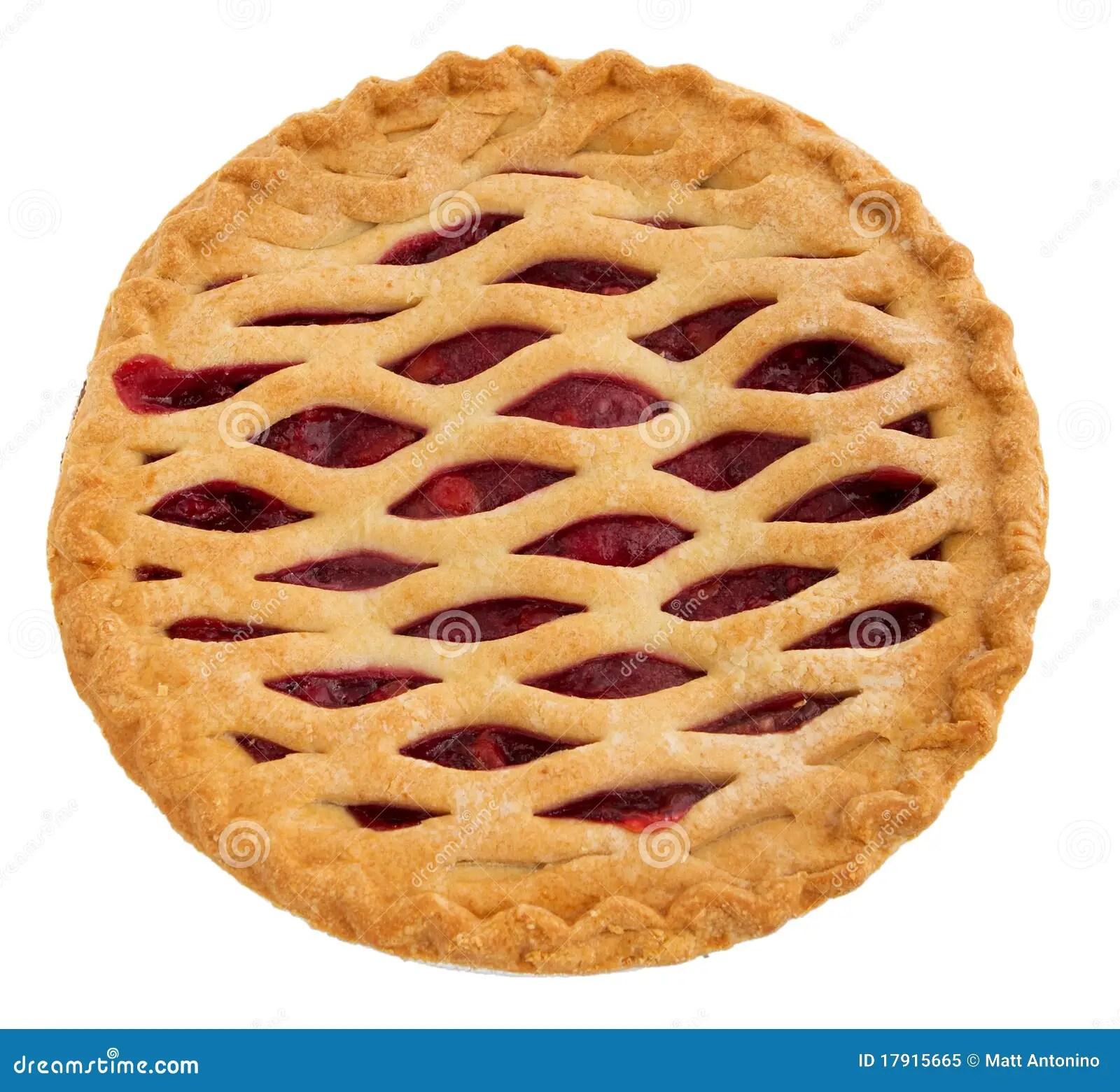 Whole Cherry Pie Stock Image Image Of Close Sugar Berry 17915665