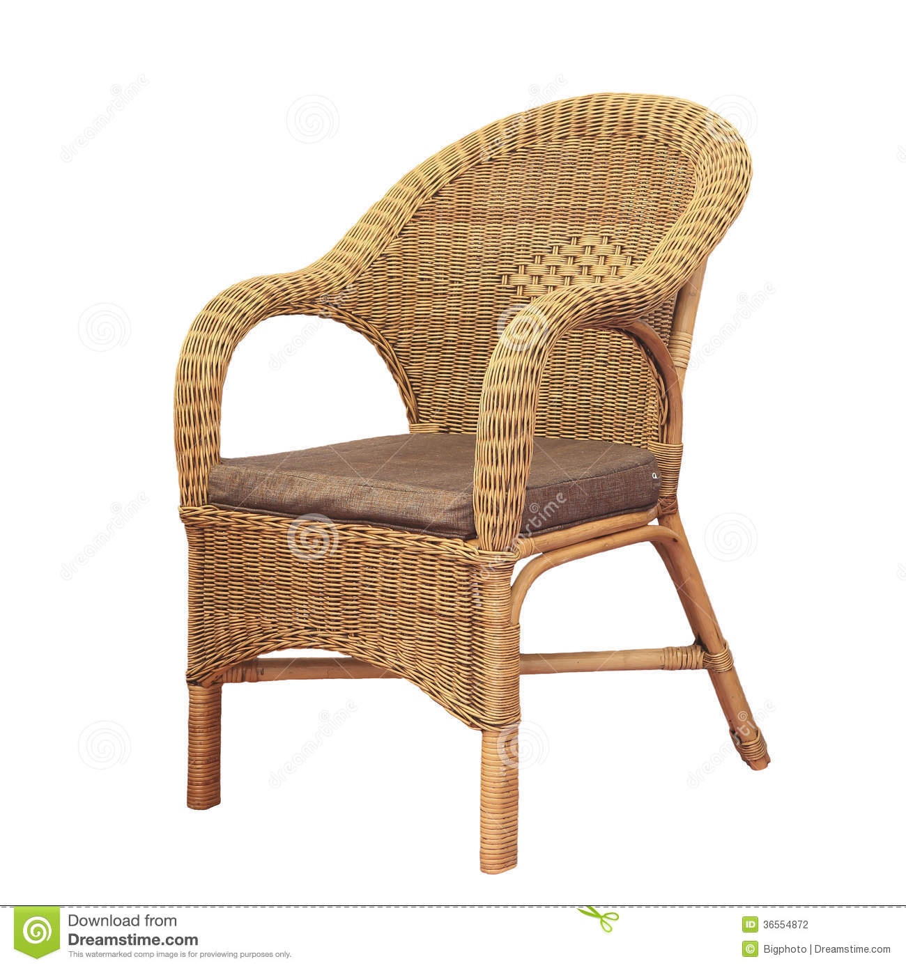 comfortable wicker chairs diy chair covers for folding isolated on white background
