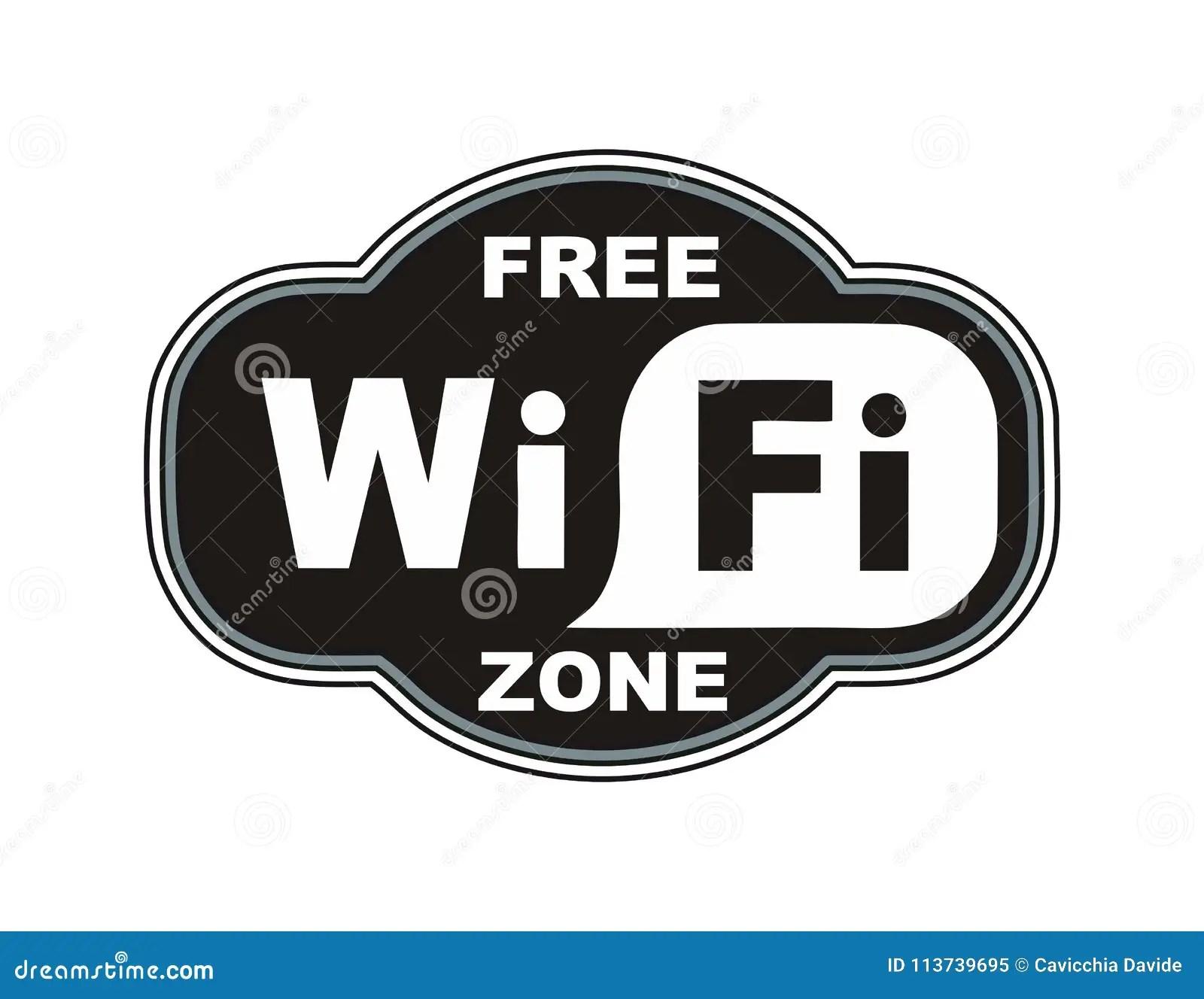 a free wifi zone