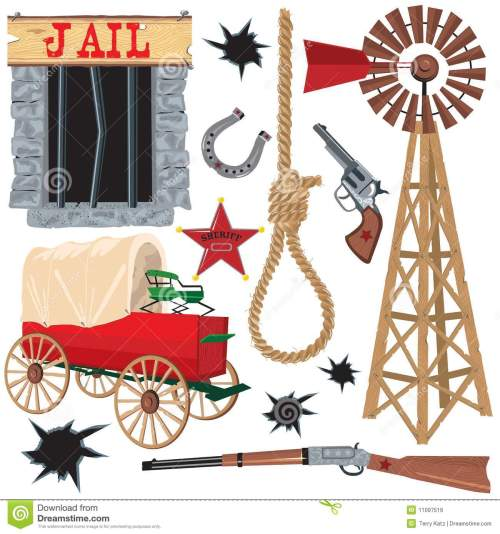 small resolution of wild west clip art