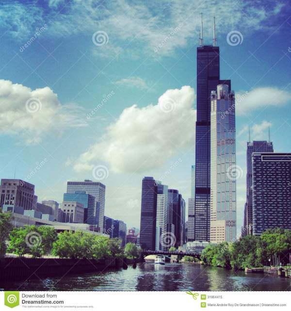 Willis Tower In Chicago Royalty Free Stock