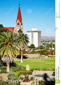 Windhoek Capital Of Namibia Royalty Free Stock