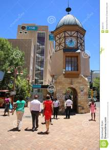 Windhoek Clock Tower Editorial - 35267757
